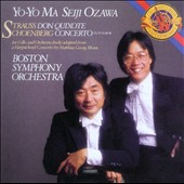 Strauss: Don Quixote; Schoenberg: Cello Concerto / Yo-Yo Ma, cello; Ozawa, Boston SO