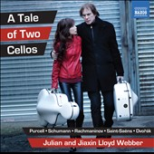 A Tale of Two Cellos - Arrangements by Julian Lloyd Webber / Julian and Jiaxin Lloyd Webber, cellos; Catrin Finch, harp; John Lenehan, piano