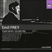 Emil Frey: Piano Music, Vol. 1