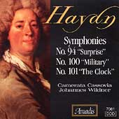Haydn: Symphonies no 94, 100 & 101 / Wildner, et al