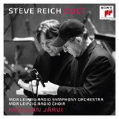 Steve Reich: Duet for Two Solo Violins and String Orchestra, Clapping Music, The Four Sections, You Are, Daniel Variations -