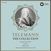 Telemann: The Collection - Concertos; Paris Quartets; Trio Sonatas; Pimpinone Opera; et al / Emmamuel Pagud; Franz Bruggen; Han de Viens; Sergei Nakariakov; Maurice Andre; Albrecht Meyer; Alice Harnoncourt [13 CDs]