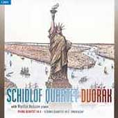 Dvorak: Piano Quintet, 'American' Quartet / Schidlof Quartet