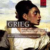 Grieg: Piano Concerto, Piano Sonata, etc / Andsnes, et al