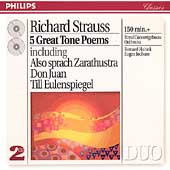 R. Strauss: 5 Great Tone Poems / Haitink, Concertgebouw