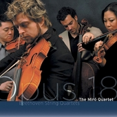 Beethoven: Six String Quartets Op 18 / Miró Quartet