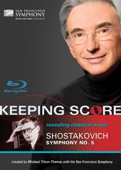 Keeping Score - Shostakovich: Symphony No. 5 / San Francisco Symphony / Tilson Thomas [Blu-Ray]