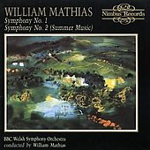 Mathias: Symphonies no 1 & 2 / Mathias, BBC Welsh SO