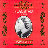 Prima Voce - Flagstad in Song