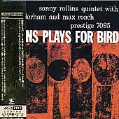 Sonny Rollins: Rollins Plays for Bird