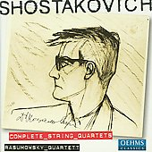 Shostakovich: The 15 String Quartets / Rasumovsky SQ