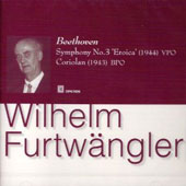 Beethoven: Symphony no 3, Coriolan Ov / Furtw&#228;ngler, et al