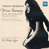 Divine Harmony - Telemann: Sacred Cantatas / Djerejian,et al