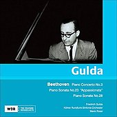 Beethoven: Piano Concerto no 3, Sonatas / Gulda, Rossi