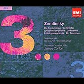 Triples - Zemlinsky: Die Seejungfrau, Symphonnies, etc / Conlon, Isokoski, Voight, et al