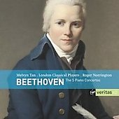 Beethoven - The Five Piano Concertos / Roger Norrington, Melvyn Tan, London Classical Players