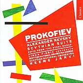 Classics - Prokofiev: Scythian Suite, Alexander Nevsky, etc / Neeme J&auml;rvi, Scottish NO, et al