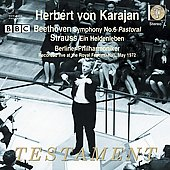 Beethoven: Symphony no 6; Strauss: Ein Heldenleben / Herbert von Karajan, Berlin Philharmonic Orchestra