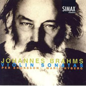 Johannes Brahms: Violin Sonatas