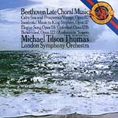 Beethoven: Late Choral Music / Tilson Thomas, London SO