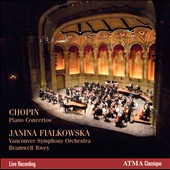 Chopin: Piano Concertos Nos. 1 & 2 / Fialkowska