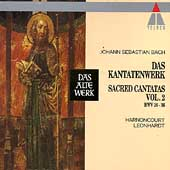 Bach: Sacred Cantatas Vol 2 / Harnoncourt, Leonhardt
