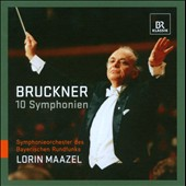 Bruckner: 10 Symphonies / Maazel, Bavarian RSO