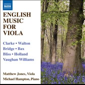 English Music for Viola / Matthew Jones