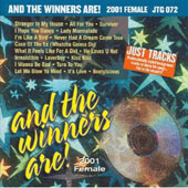 Karaoke: Just Tracks: And Winners Are (2001 Female)