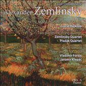 Alexander Zemlinsky: Maiblumen blühten überall; Two Pieces for String Quintet; Cello Sonata; Three Pieces for Cello