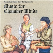 Music for Chamber Winds (CD 1) and Brass (CD 2): works by Tomasi, Mozart, Persichetti