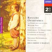 Rossini: 14 Overtures / Chailly, National Philharmonic