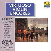 Virtuoso Violin Encores - Heifetz Transcriptions / Rosand