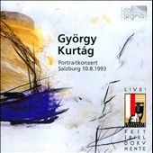 Gy&#246;rgy Kurt&#225;g: Portraitkonzert Salzburg 10.8.1993