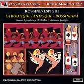 Rossini/Respighi: La Boutique Fantasque, etc / Janigro