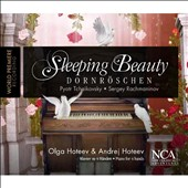Tchaikovsky (arr. Rachmaninov for 2 pianos): The Sleeping Beauty / Olga Hoteeva & Anrej Hoteev, pianists
