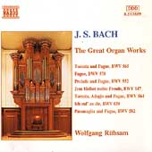 Bach: The Great Organ Works / Wolfgang Rübsam, Bertalan Hock
