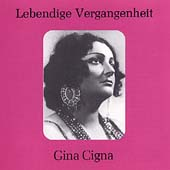 Lebendige Vergangenheit - Gina Cigna