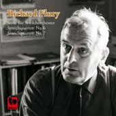 Richard Flury: Suite for String Orchestra; String Quartets Nos. 6 & 7 / Orchestra della Svizzera Italiana; Flury; New Vienna String Quartet