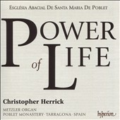 'Power of Life' - Metzler organ of Poblet Monastery, Tarragona, Spain /  Christopher Herrick, organ