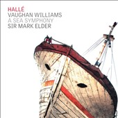 Vaughan Williams: Symphony No. 1 'A Sea Symphony' / Katherine Broderick, soprano; Roderick Williams, baritone. Hallé Orch. & Chorus