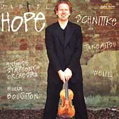 Schnittke, Takemitsu, Weill / Hope, Boughton, English SO