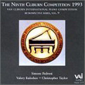Van Cliburn Competition Retrospectives Vol 9 - 1993