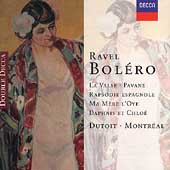 Ravel: Boléro, La valse, Pavane, etc / Dutoit, Montreal SO