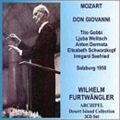 Mozart: Don Giovanni / Furtw&#228;ngler, Gobbi, Seefried, et al