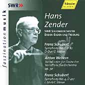 Faszination Musik - Schubert, Webern / Hans Zender, et al