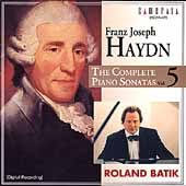 Haydn: Complete Piano Sonatas Vol 5 / Roland Batik