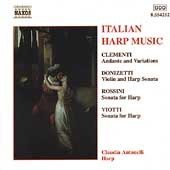 Italian Harp Music - Clementi, Rossini, et al / Antonelli