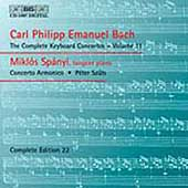 C.P.E. Bach: Keyboard Concertos Vol 11 / Miklos Spanyi
