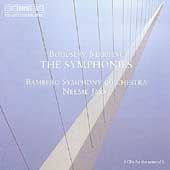 Martinu: The Symphonies / Neeme Järvi, Bamberg SO